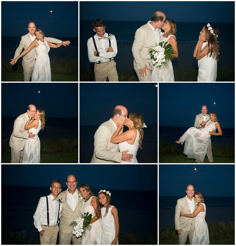 Wedding on the beach photography