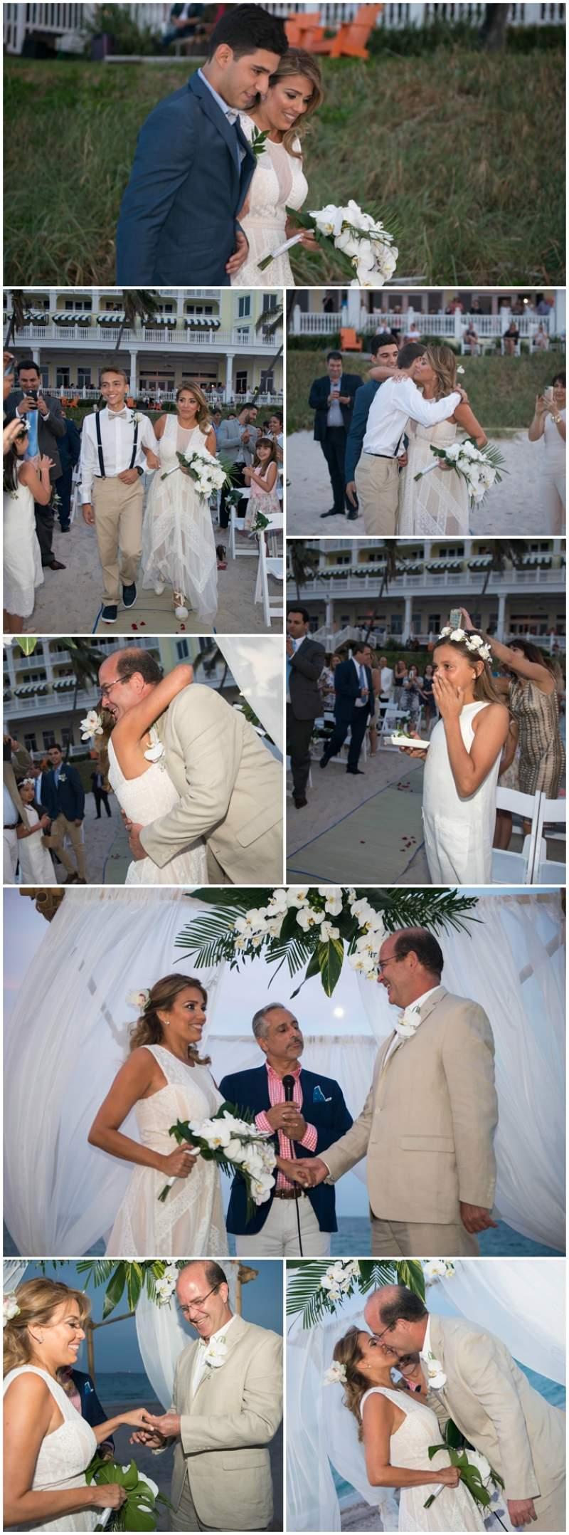 boda en la playa miami sesión fotográfica