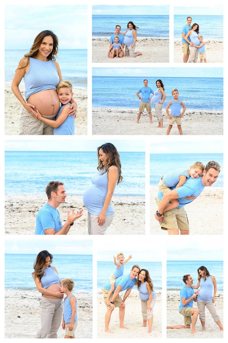 fotos de embarazo en la palya