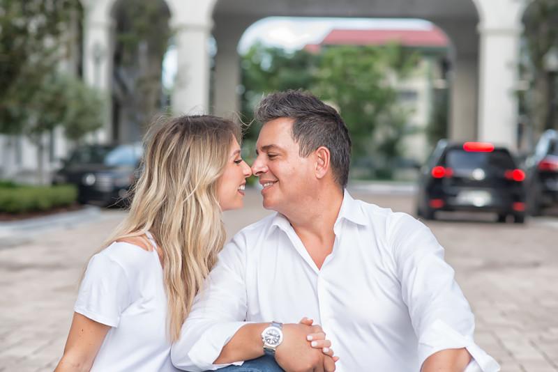 Daniel Sarcos y Alessandra