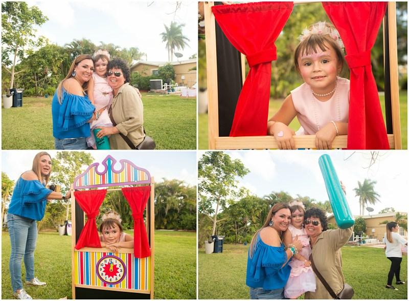 fotografia de cumpleaños infantil pequeñas princesas