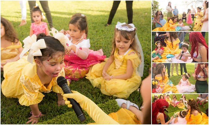 sesión De fotos pequeñas princesas